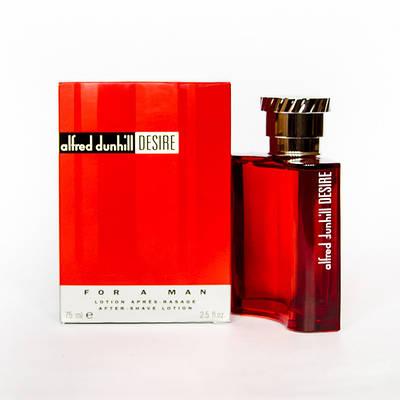 Чоловічий лосьйон після гоління ALFRED DUNHILL Desire for a Men 75ml, східний деревний аромат ОРИГІНАЛ