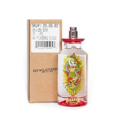 Женские духи Christian Audigier Ed Hardy Villain 125ml парфюмированная вода ТЕСТЕР сладкий цветочный аромат
