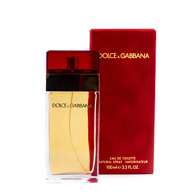Елітні жіночі парфуми DOLCE & GABBANA for Women 100ml туалетна вода, квітково-альдегідний аромат ОРИГІНАЛ