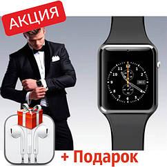 Акція! Розумні годинник Smart A1 Turbo. Смарт годинник. Навушники в подарунок