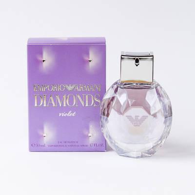 Французькі жіночі парфуми GIORGIO ARMANI Emporio Armani Diamonds Violet 50ml, солодкий фруктовий пудровий аромат