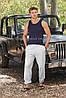 Мужские спортивные штаны с резинкой снизу, фото 2
