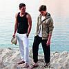 Мужские спортивные штаны с резинкой снизу, фото 5