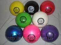 Мяч для художественной гимнастики силикон TA sport.