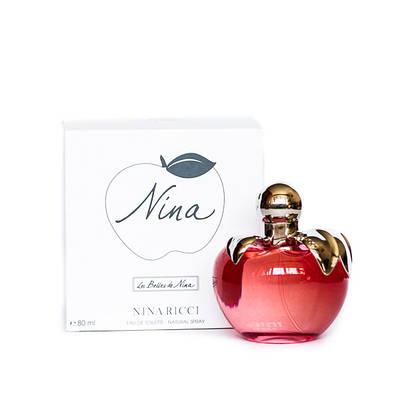 Духи Нина Ричи красное яблоко NINA RICCI Nina 80ml туалетная вода ТЕСТЕР свежий цветочный аромат ОРИГИНАЛ