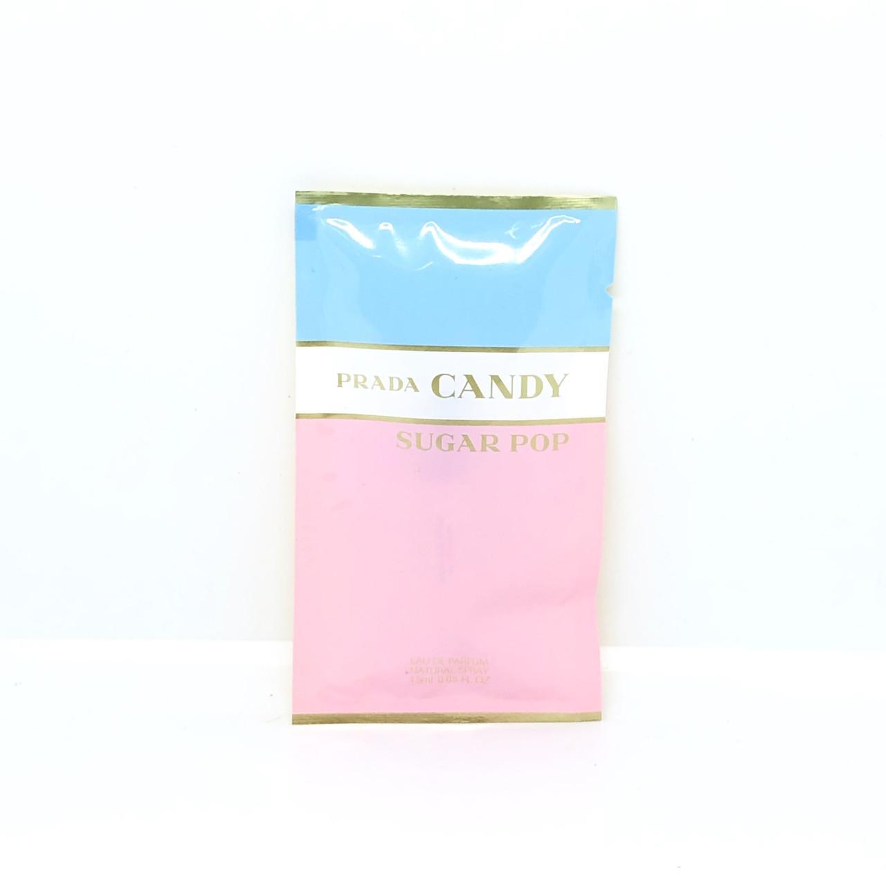 Пробник елітних парфумів оригінал PRADA Candy Sugar Pop 1,5 мл, квітково-фруктовий аромат