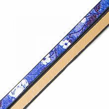 Шнур Натуральная Кожа, Цвет: Сиреневый, Размер: Ширина 5мм, Толщина 3мм, около 0.95м/шт, (УТ100005662)