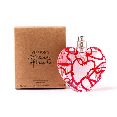 Женские духи VERA WANG Princess of Hearts 50ml парфюмированная вода ТЕСТЕР цветочно-фруктовый аромат