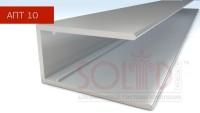 Алюмінієвий торцевий профіль АПТ - 10мм ТМ SOLIDPROF