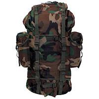 Рюкзак тактический 65л  MFH цвета лесной камуфляж