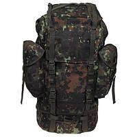 Рюкзак тактический 65л флектарн MFH цвета камуфляж