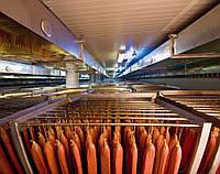 Оборудование сушки колбас