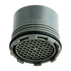 Водосберегающая насадка-аэратор DROP для смесителя SP165E, поток 4 л/мин, диаметр 16,5 мм (внешняя резьба)