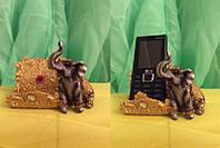 Статуэтка фэн - шуй слон денежный, высота 8 см.