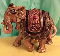 Статуэтка фэн - шуй слон денежный, высота 9 см.