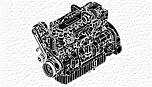 Двигун 6090 John Deere 9L PowerTech Plus