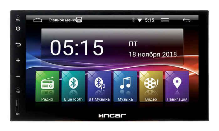 Универсальная 2DIN магнитола Incar AHR-7680 (Android 7.0)