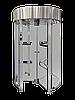 Турникет полноростовой GLASS GO, полированная нержавеющая сталь AISI 304