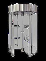 Турникет полноростовой GLASS GO, полированная нержавеющая сталь AISI 304, фото 1