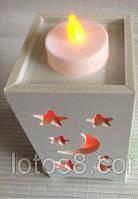 Ночник, светильник, фонарь в виде свечки.
