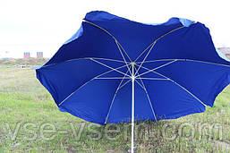 Зонт торговый (пляжный) из плотной ткани, диаметр 3 м.