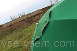 Зонт торговый (пляжный) из плотной ткани с ветровым клапаном, диаметр 3 м.