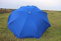 Зонт торговый (пляжный) из плотной ткани, диаметр 3,5 м.
