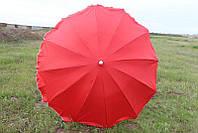 Зонт торговый (пляжный) с серебряным напылением, диаметр 2,5 м.