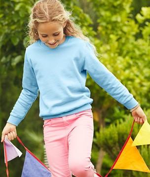 Детский классический свитер