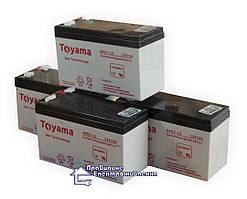 Гелевий Акумулятор  Toyama NPG 7-12 (12V 7Ah)