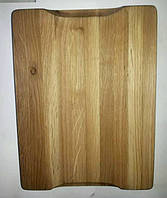 Разделочная доска толстая из дуба, размер 50×30 см., фото 1