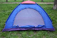Палатка летняя туристическая двухместная 200х120х110 см., фото 1