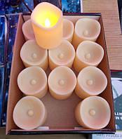 Набор свечей на батарейках, в комплекте 12 шт., фото 1