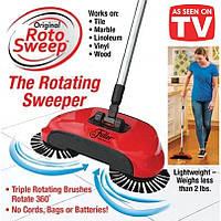 Механічна щітка віник швабра для прибирання підлоги Sweep drag all in one 360 Rotating, фото 1