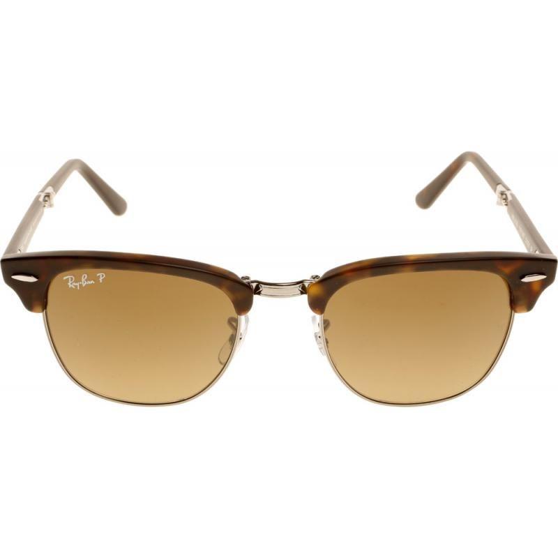 Очки Ray Ban 3016 Clubmaster, brown pl. lenses