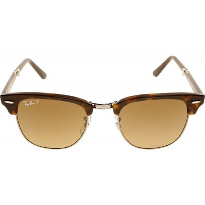 Очки Ray Ban 3016 Clubmaster, brown pl. lenses