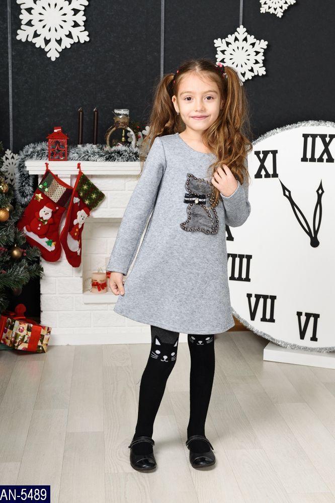 Детское платье ангора теплое рост 116 122 128 134 Одесса  7 Км