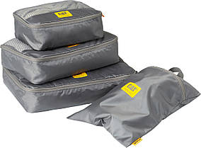 Дорожный комплект сумок для упаковки одежды и обуви CAT Travel Accessories 83649;06 серый