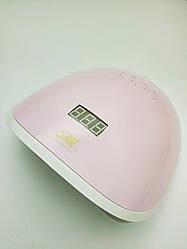 Лампа UV+LED SML S8 68W, рожева