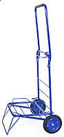 Тележка хозяйственная с колесами на подшипниках 100 х 38 см. синий (0013), фото 1