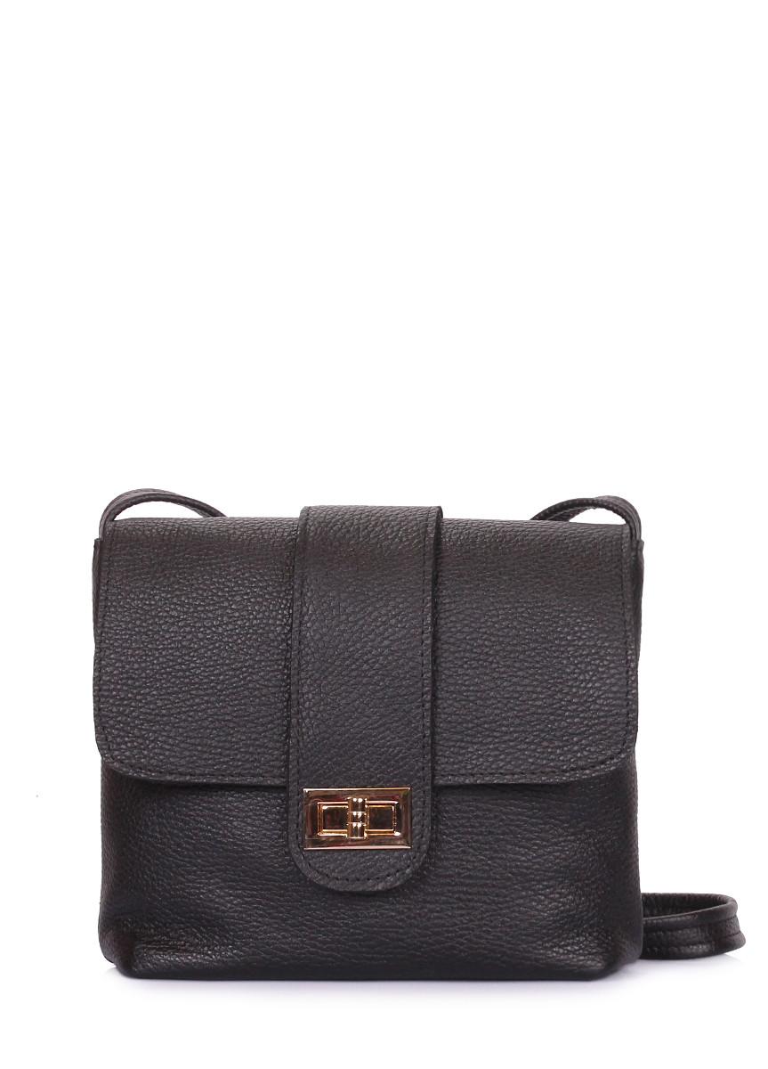 Кожаная сумка на плечо POOLPARTY Kiki