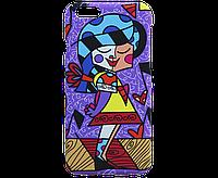 Чехол для мобильного телефона iPhone 6, рисунок - девочка, фото 1