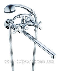 Смеситель для ванны Zegor DMT с картриджным переключателем