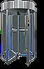 Турникет полноростовой GLASS GO-S, полированная нержавеющая сталь AISI 304