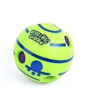 Іграшка для собак Hangliang регочуть м'яч Wobble wag giggle салатовий (0049)