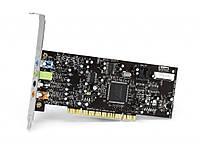 Звуковая карта PCI с ОЧЕНЬ КАЧЕСТВЕННЫМ ЗВУЧАНИЕМ Creative Audigy SE SB0570 24-bit 7.1 Windows 7,Win 10 ,Xp