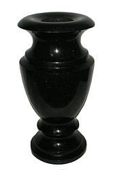 Гранитная ваза 30 см (диаметр 15 мм)