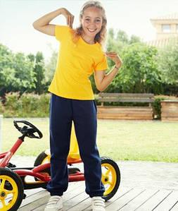Детские спортивные штаны с резинкой снизу