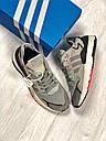 Кроссовки серые мужские Адидас Найт Джоггер (Adidas Nite Jogger ) размер 41, 42, 43, 44, 45 реплика, фото 8