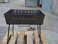 Складной мангал - чемодан на 12 шампуров